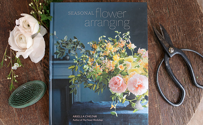 Seasonal Flower Arranging by Ariella Chezar