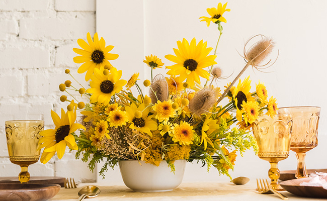 Sunflower Fall Arrangements