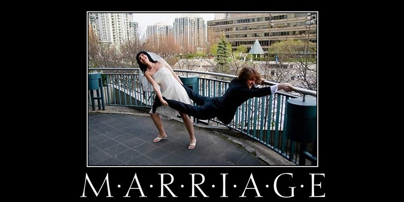 scared to get married