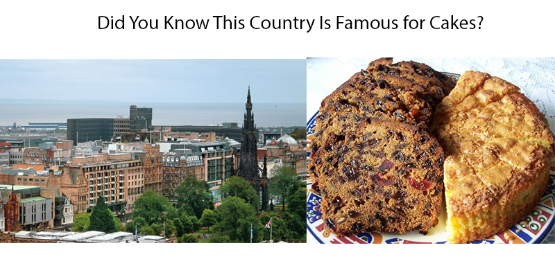 Country known for Cake
