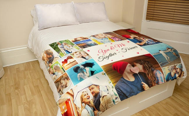 Comfortable Cozy Personalised Blanket