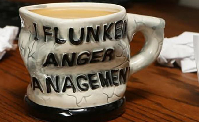 Flunked Anger Management Mug