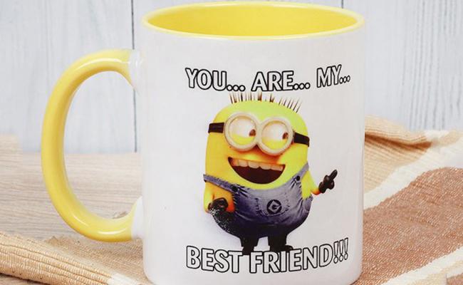 Minion Buddy Mug