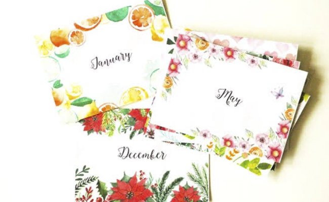 Monthly Letters