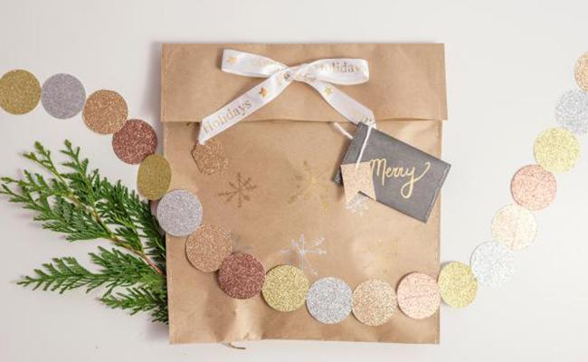 Sewn Gift Wrap