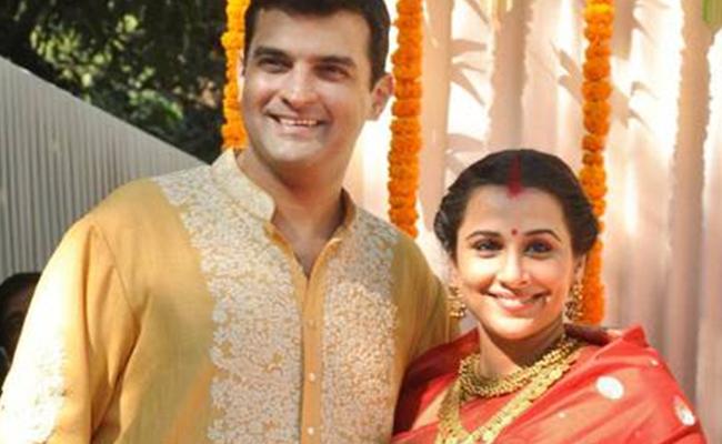 Vidya Balan Kapoor and Siddharth Roy Kapoor