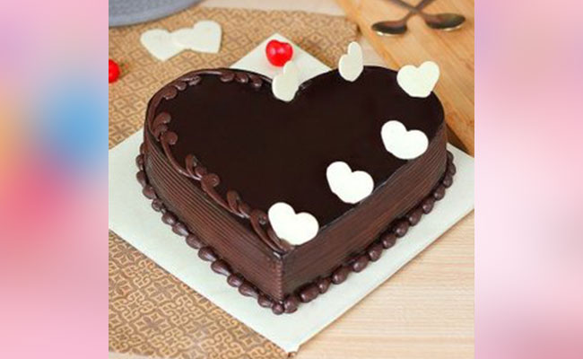 Love-Infused Chocolate Cake