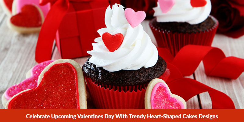 Heart-Shaped Cakes Designs