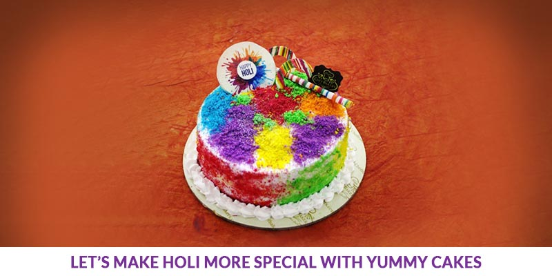Holi Special with Yummy Cakes