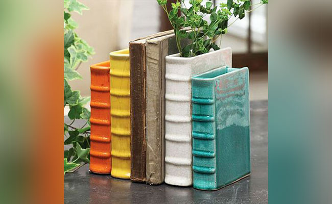 Bookend Vases