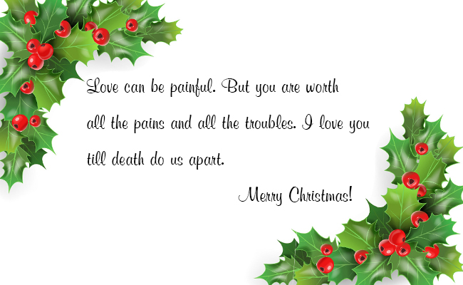 Christmas Wish for Loved Ones