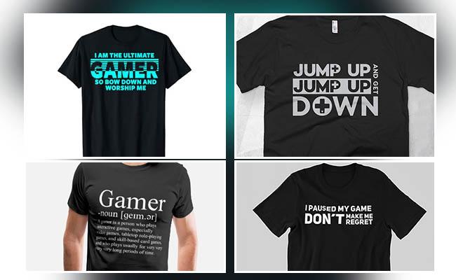 Gamer Tshirt Gift set for Brother