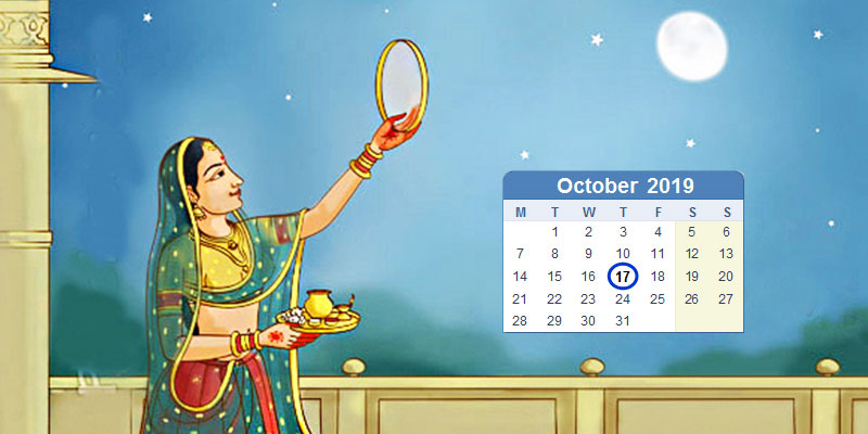 Karwa Chauth Calendar