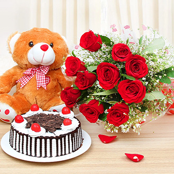 Flower and Cake Online