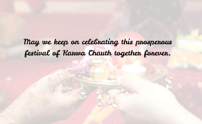 Dear Soulmate Happy Karwa Chaut