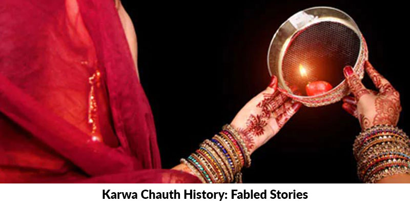 Karwa Chauth History: Fabled Stories