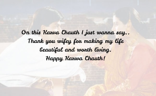 Together Forever Karwa Chaut Wishes