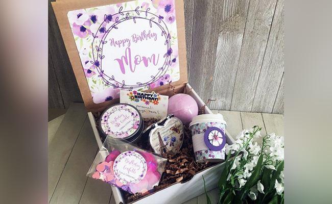Special Birthday Box for Mom