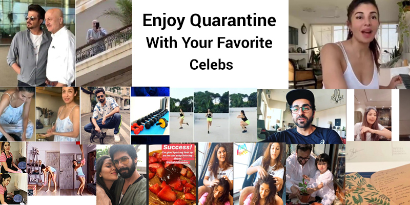 Enjoy Quarantine With Your Favorite Celebs