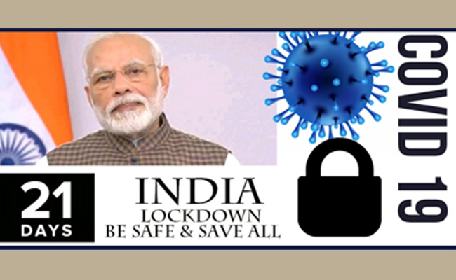 India Lockdown for 21 Days