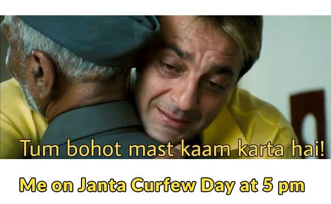 Janta Curfew at 5 pm