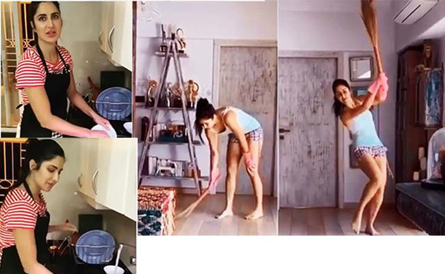 Katrina Kaif Turned Into A Domestic Help