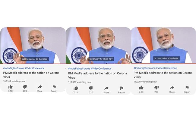 PM Modi Address the Nation on Carona Virus