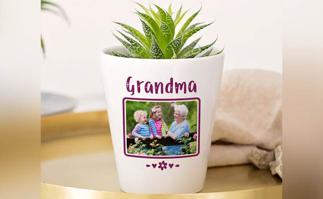 Personalised plant gifts for women