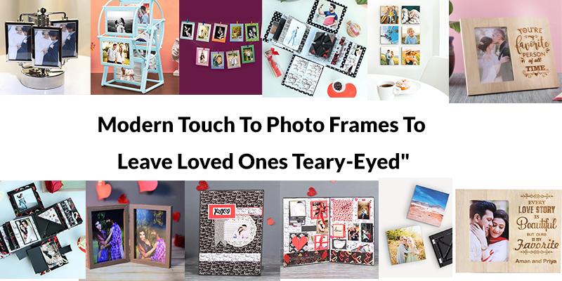 Modern Photo Frame Gift Ideas