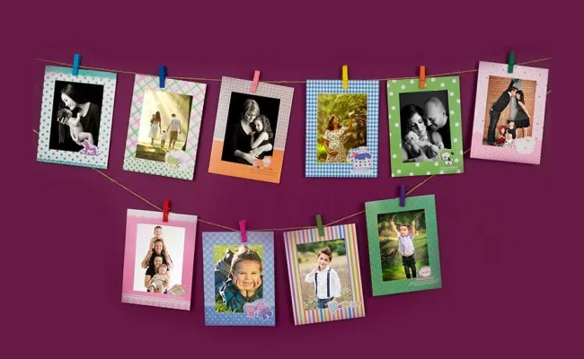 Hanging Wall Photo Frame