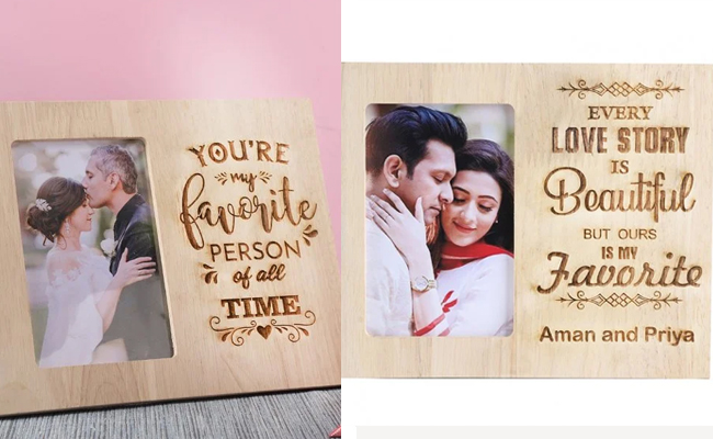 Quoted Photo Frame