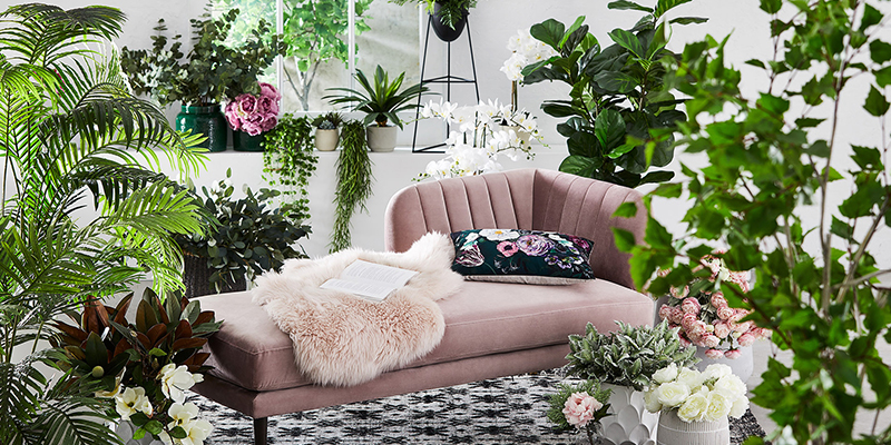 Decorate your Living Room with Artificial Plants