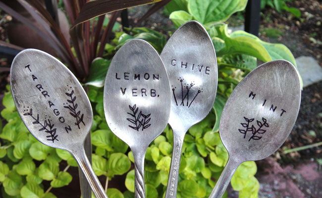 Creative With Plant Markers
