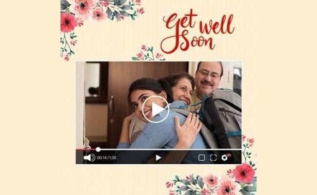 Get Well Video Message