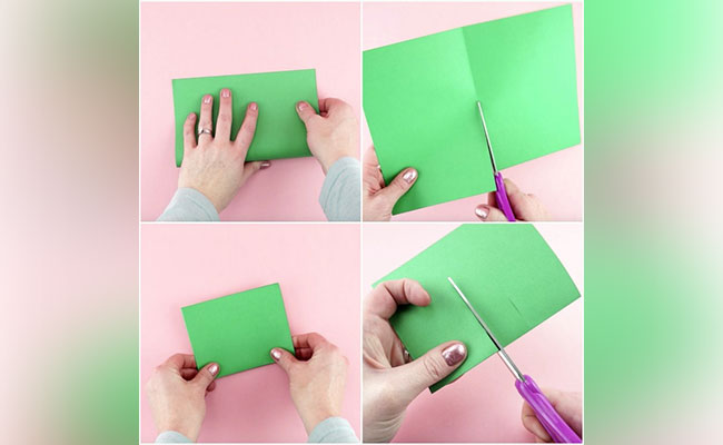Step 1 to create 3d pop up card