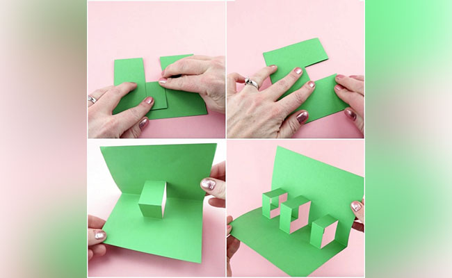 Step 2 to create 3d pop up card