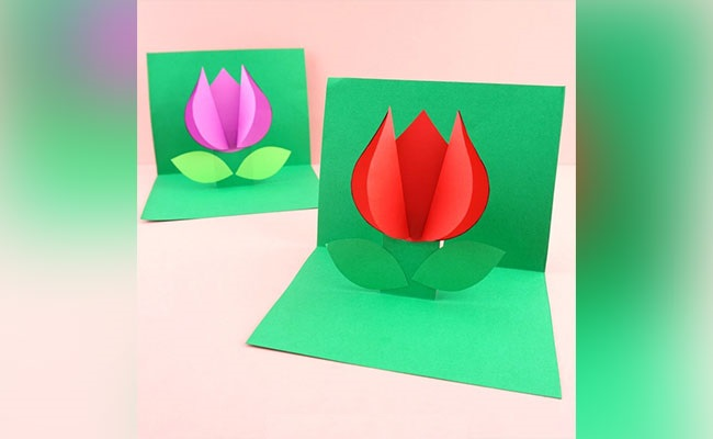 Step 4 to create 3d pop up card