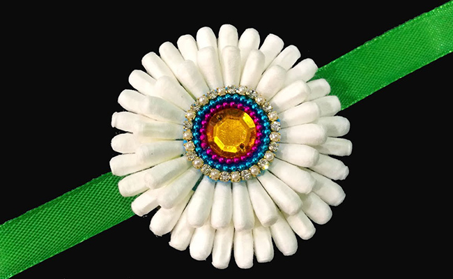 Beautiful Cotton Rakhi