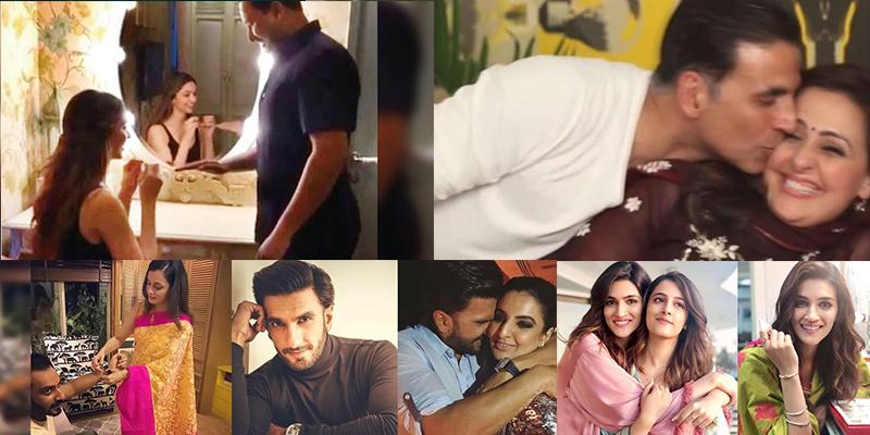 Bollywood Celebrities Breaking The Stereotype of Celebrating Rakhi