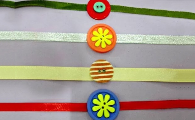 Button Rakhi