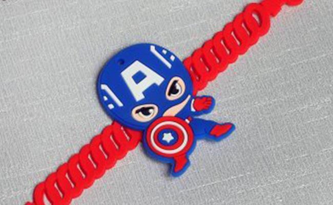Captain America Rakhi