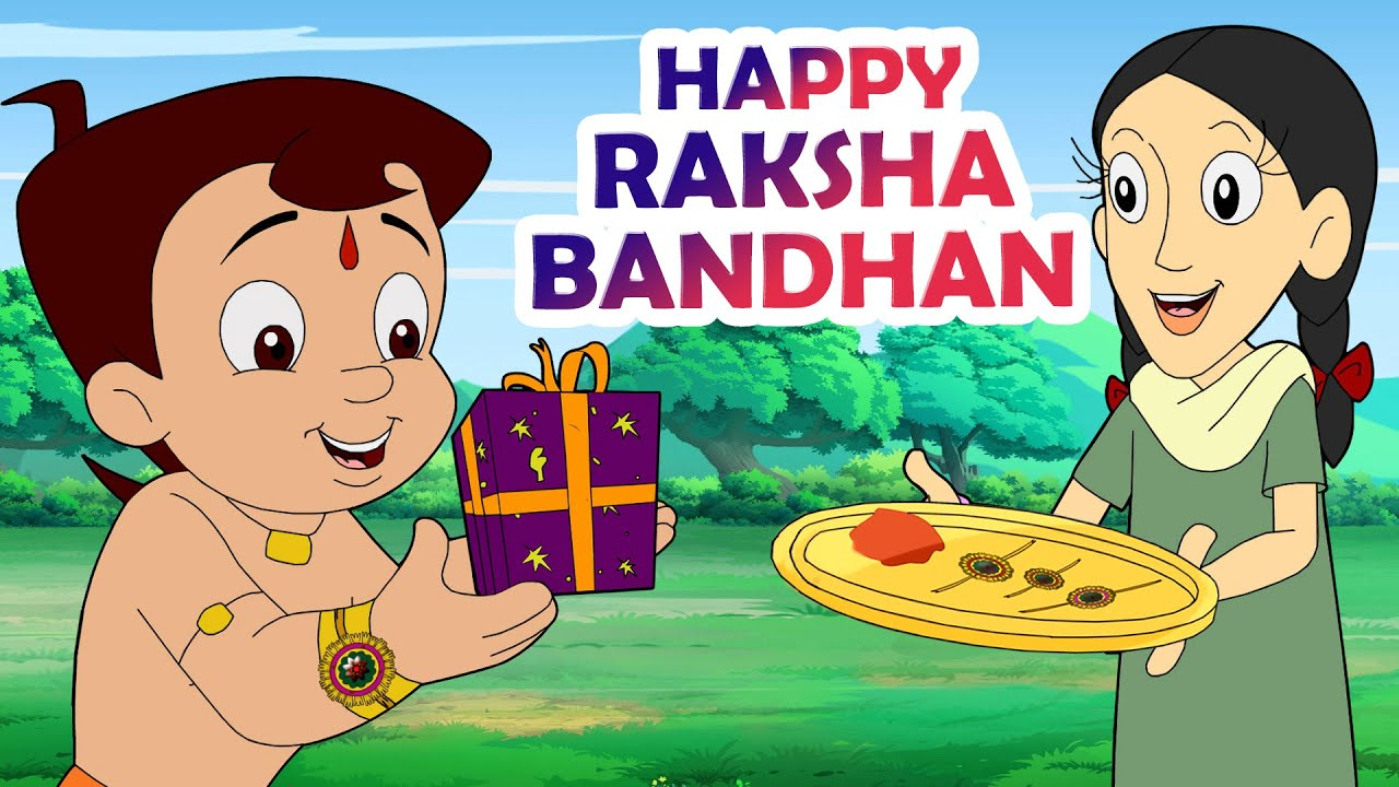 Chhota Bheem Celebrating Raksha Bandhan