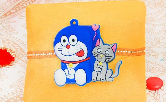 Delighting Doraemon Rakhi