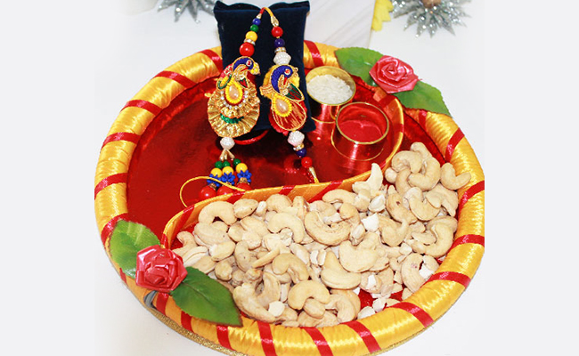 Dry Fruits Thali Decoration