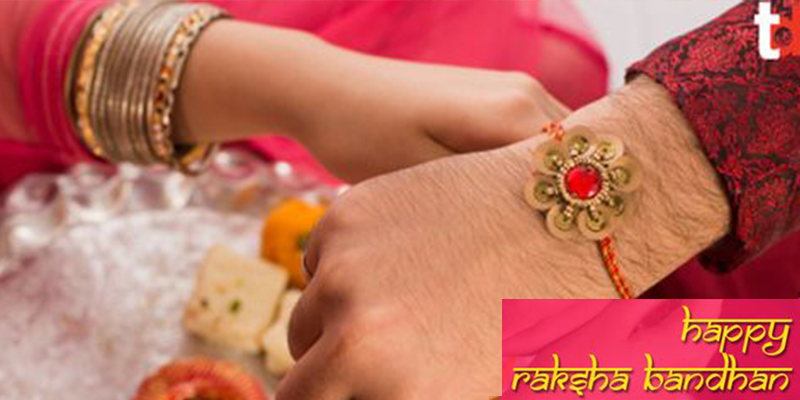 Fancy Bracelet Rakhi for Brother