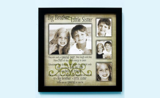 Hanging Raksha Bandhan Photo Frame