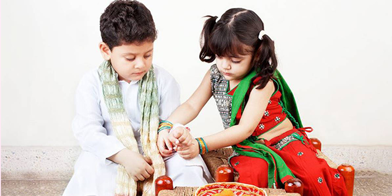 Raksha Bandhan celebration in Different Parts of India