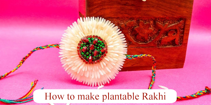 How to Make Eco-friendly Rakhi