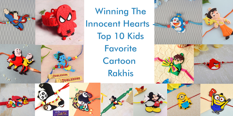 Kids Favorite Cartoon Rakhis