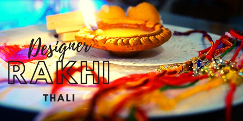 Latest Designer Rakhi Thali